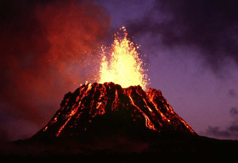 National Parks: Hawaii's Volcanos