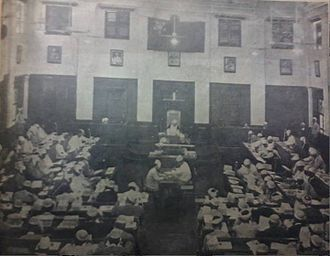 Assembly of the Union - Chamber of Deputies (Pyithu Hluttaw) in Post-independence Burma