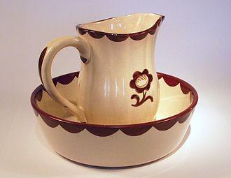 Gustavsberg porcelain - Image: Pyro skål kanna
