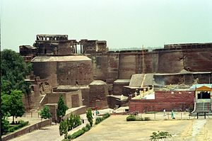 Qila Mubarak - View from inside the Fort.