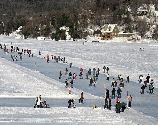 Québec-LacBeauportGelé