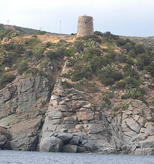 Quartu Sant'Elena - 18th-century defence tower along the coast of Cala Regina