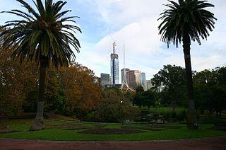 park in Melbourne, Victoria, Australia
