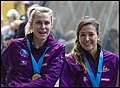Queensland Netball Firebirds parade day-30 (19260013585).jpg