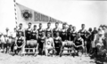 Queensland State Archives 320 Bundaberg Surf Life Saving Club members Nielson Park Burnett Shire c 1931.png