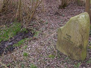 Alte Schwentine - Source of the Alte Schwentine near Bornhöved
