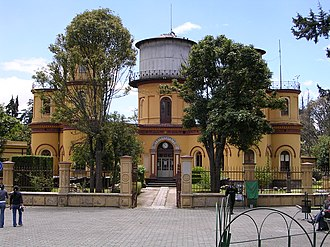 Astronomy - 19th-century Quito Astronomical Observatory is located 12 minutes south of the Equator in Quito, Ecuador.