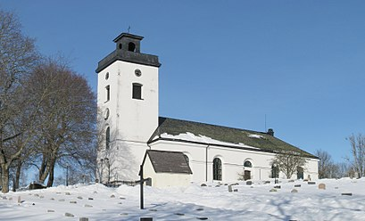 How to get to Rådmansö Kyrka with public transit - About the place