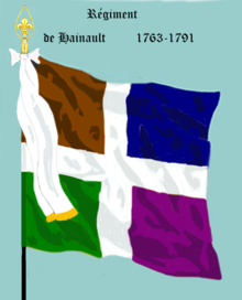 Image illustrative de l'article Régiment de Hainault (1762)