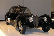 Bugatti type 57 atlantic sc