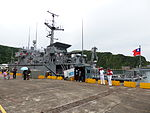 ROCN Yung An (MHC-1311) Shipped in No.7 Pier of Zhongzheng Naval Base 20130504.jpg