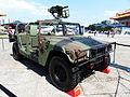 ROC Military Police M998 Display at CKS Memorial Hall Plaza 20130608.jpg