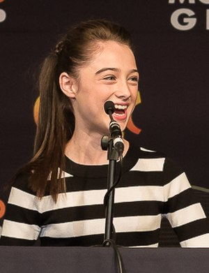 Raffey Cassidy - Raffey Cassidy on the Tomorrowland panel at MCM London Comic Con
