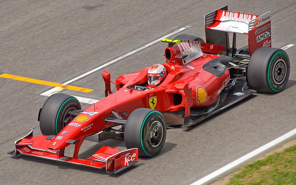 Raikkonen Spain 2009