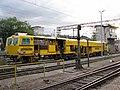 Rail service vehicle on Zagreb Main Station.jpg