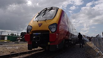 British Rail Class 221 - Virgin West Coast unit 221144 was reduced to two cars, allowing the removed carriages to be used to lengthen four-car units to five car. 221144 was stored at Central Rivers Depot, and is used as a training vehicle. As of 2018, it is in service with CrossCountry in its original 4 coach formation.