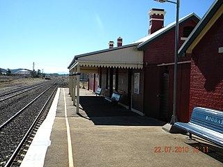 Boggabri railway station