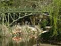 Railway bridge and flamingos - geograph.org.uk - 1274854.jpg
