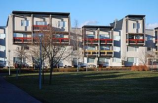 Tibro Place in Västergötland, Sweden