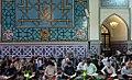 Ramadan 1439 AH, Qur'an reading at Goharshad Mosque, Mashhad - 27 May 2018 03.jpg