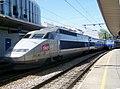 Rame TGV Sud-Est 53 en gare d'Annecy (mai 2009).JPG