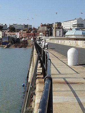 Port of Ramsgate - The East harbour arm of the main Royal Harbour