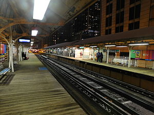 Randolph/Wabash station - Image: Randolph Wabash Station