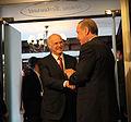 Recep Tayyip Erdoğan and George Papandreou, Erzurum January 2011 01.jpg