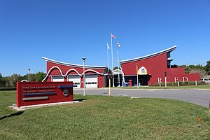 Lake Buena Vista, Florida - Reedy Creek Improvement District Fire Department Emergency Services fire station