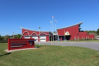 Bay Lake, Florida - Reedy Creek Improvement District Fire Department Emergency Services fire station