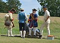 Reenactors demonstrating firing of a mortar (7) (21700152984).jpg