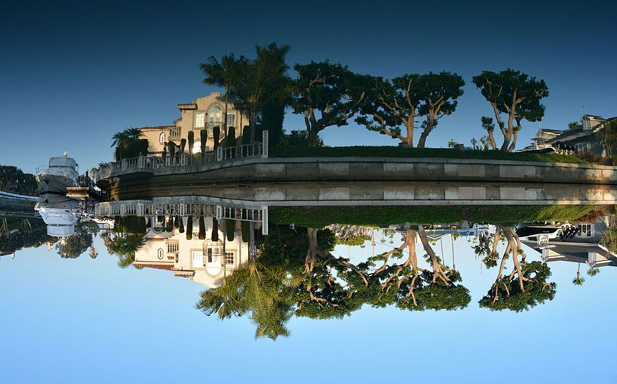 Reflections of Newport Beach