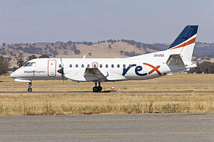Regional Express Airlines - Saab 340B aircraft at Wagga Wagga Airport