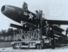 The Regulus missile was used by the United States to try to deliver mail.
