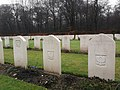 Reichswald Forest War Cemetery polish graves.jpg