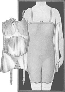 foundation garment combining a brassiere and a corset