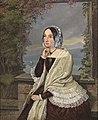 Reinhard Sebastian Zimmermann - Porträt der Charlotte Fürstin und Altgräfin zu Salm-Reifferscheidt-Krautheim geb. Prinzessin zu Hohenlohe-Bartenstein-Jagstberg, 1847.jpg