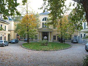 Max Reinhardt Seminar - Reinhardt Seminar in Palais Cumberland