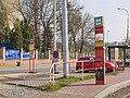 Reko TT Nádraží Holešovice - Trojská, Trojská, zastávka tram a NAD.jpg