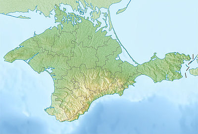 Location map Ukraine Crimea