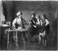 Rembrandt (Harmensz. van Rijn) (Nachahmer) - Gleichnis vom unbarmherzigen Knecht - 6299 - Bavarian State Painting Collections.jpg