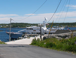 West Dover, Nova Scotia - The Luxury Yacht Rena Visits West Dover