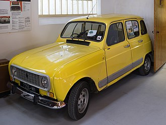 Irish Agricultural Museum - Image: Renault R4 GTL 1982