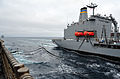 Replenishment at sea with USNS Henry J. Kaiser 120823-N-YQ852-049.jpg