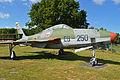 Republic RF-84F Thunderflash 'EB-250' (14532150095).jpg