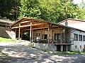 Restaurace Sejpy (bývalý Motokov), zahrádka.JPG