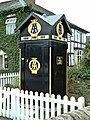 Restored AA box at Eardisland - geograph.org.uk - 1063002.jpg