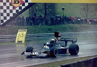 Peter Revson - Revson at the 1974 Race of Champions