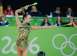 Rhythmic gymnastics at the 2016 Summer Olympics, Marina Durunda 30.jpg