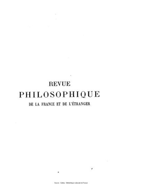 File:Ribot - Revue philosophique de la France et de l'étranger, tome 37.djvu